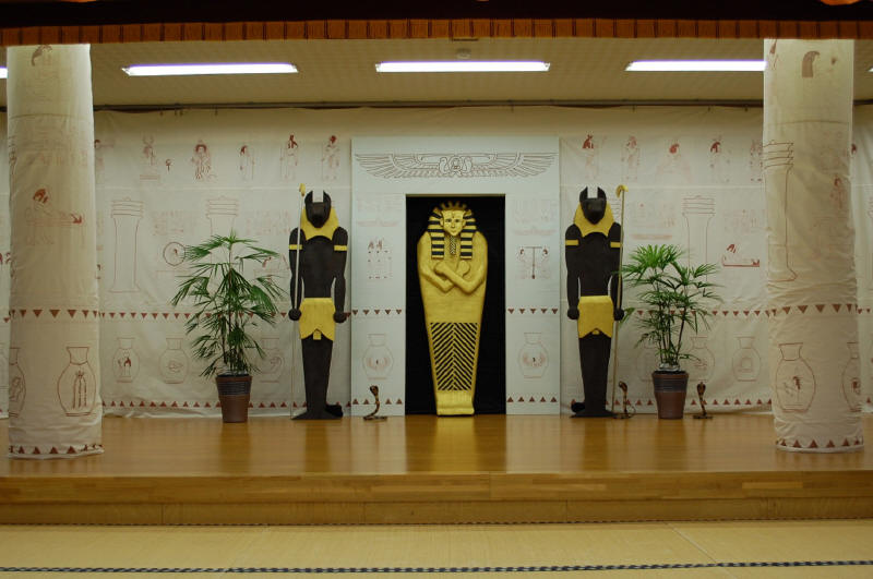 Bible classroom decor ideas on pinterest bible stories for Ancient egyptian decoration