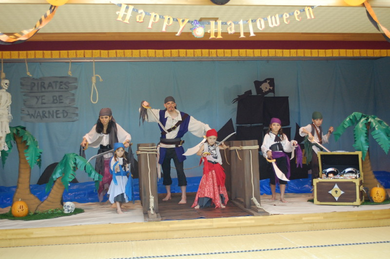 Pirate Theme Halloween Party - Game Ideas and Decorations